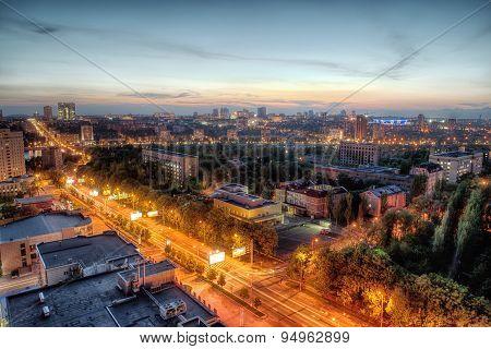 Night Urban Landscape, Dnr