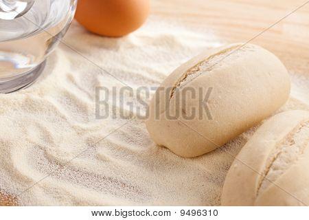 Unbaked Baguettes