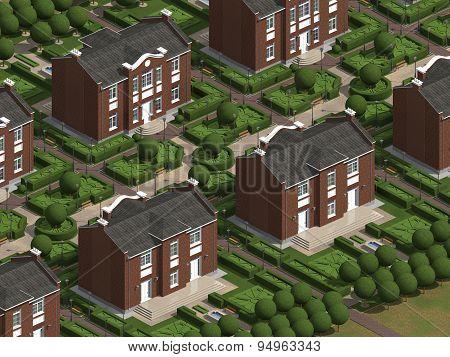 Masterplan Of The Village