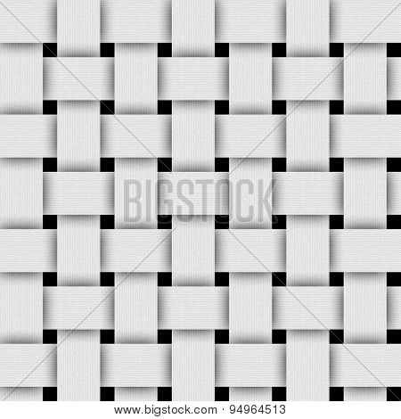 Basketwork-white