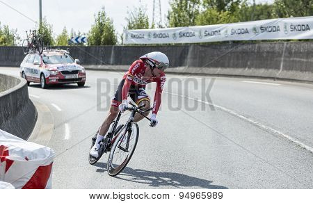 The Cyclist Jurgen Van Den Broeck - Tour De France 2014