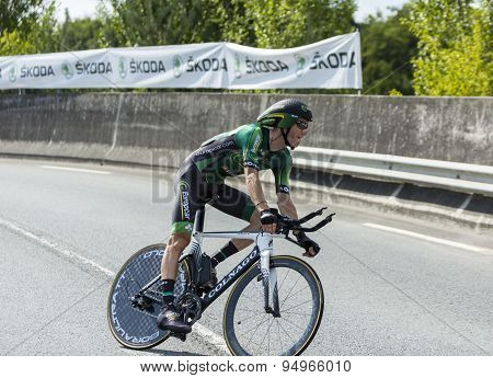 The Cyclist Pierre Rolland - Tour De France 2014