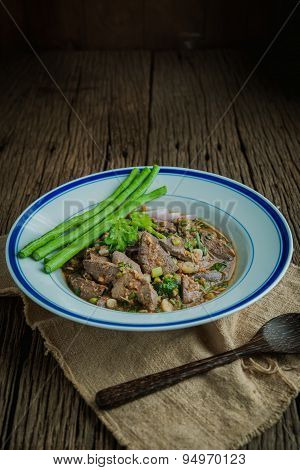 Spicy Pig Liver
