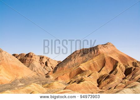 Danxia Landform In Zhangye, Gansu, China