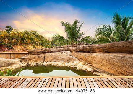 Open Air Hot Spring Spa
