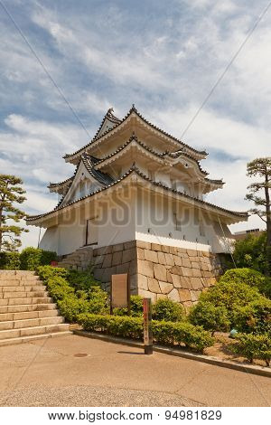 Ushitora (northeast) Turret (1676) Of Takamatsu Castle, Japan
