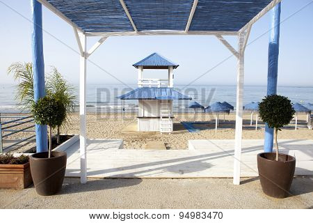 Beach Refreshments Stand