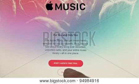 Apple Music Application On Ipad