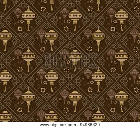 Background pattern. Asian style texture: Chinese, Japanese, Indian.