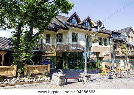 Mcdonalds Restaurant Branch In City Of Zakopane
