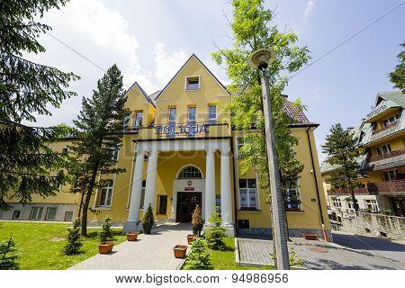 Police Station In Zakopane