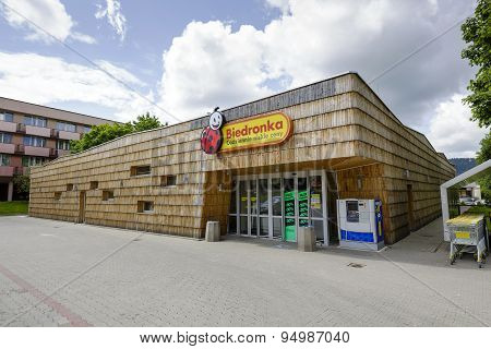 The Building Of Retail Store In Zakopane