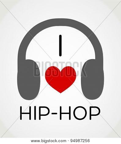 I love hip-hop music
