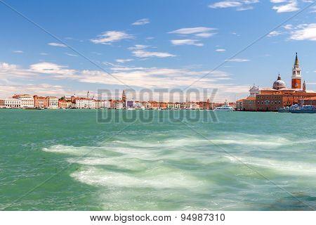 Venice. Campanile St. Mark's Basilica.