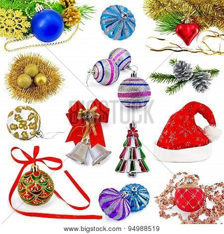 Christmas toys set