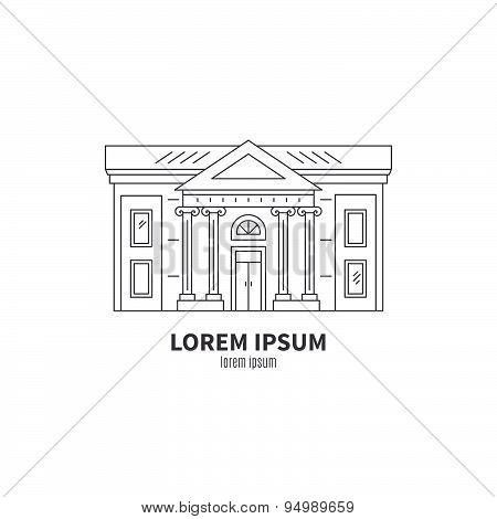 Museum Or Theatre Icon