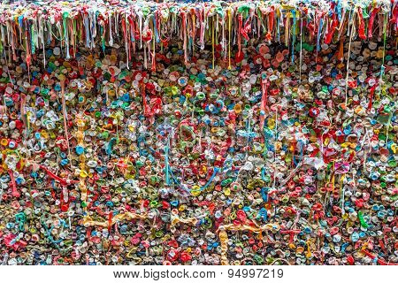 The Market Theater Gum Wall
