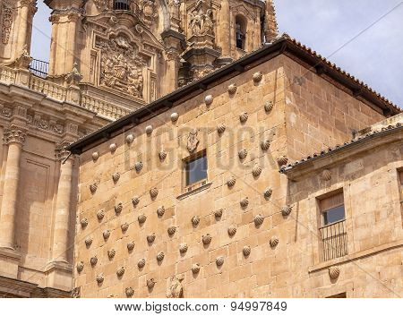 House Of Scallop Shells Casa De La Conchas Salamanca Castile Spain