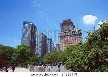Battery Park Of New York