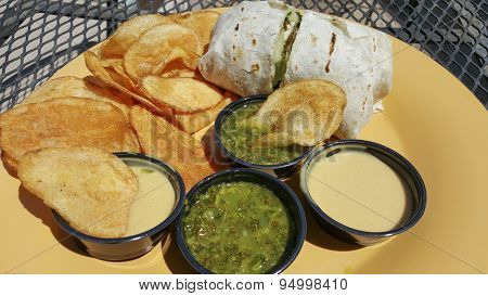 American-mexican Lunch
