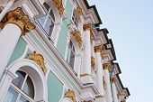 stock photo of winter palace  - The building of Hermitage and Winter Palace in St - JPG