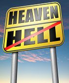 picture of soul  - heaven or hell - JPG