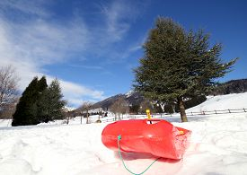 picture of rebs  - reb bob for playing in the snow in mountains in winter - JPG