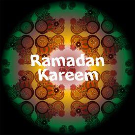 pic of ramadan mubarak card  - Ramadan Kareem beautiful greeting card - JPG