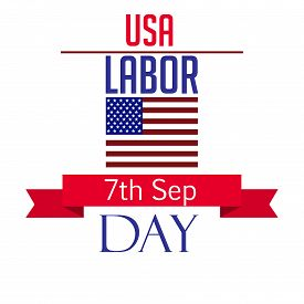 picture of labor  - illustration of a grungy stamp for Labor Day - JPG