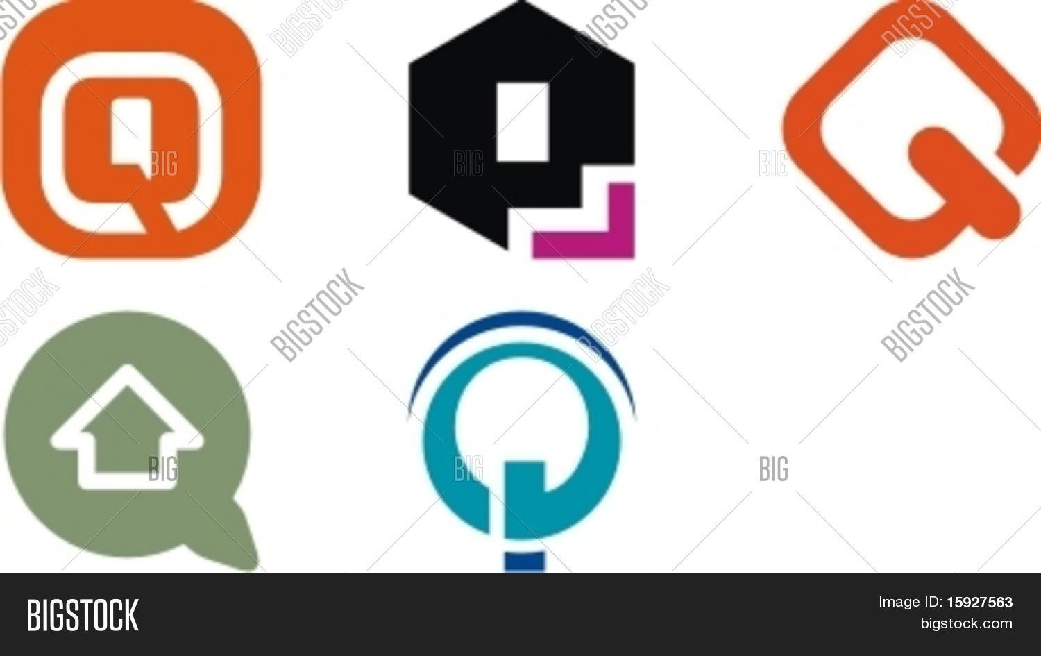 Alphabetical Log...Q Letter Logo