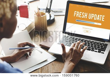 Upgrade Update Software Latest Fresh Software Concept