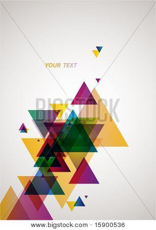 abstrakt farbigen Hintergrund.
