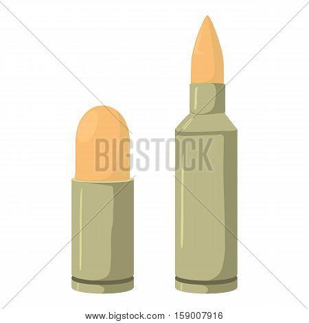 Cartridge icon. Cartoon illustration of cartridge vector icon for web