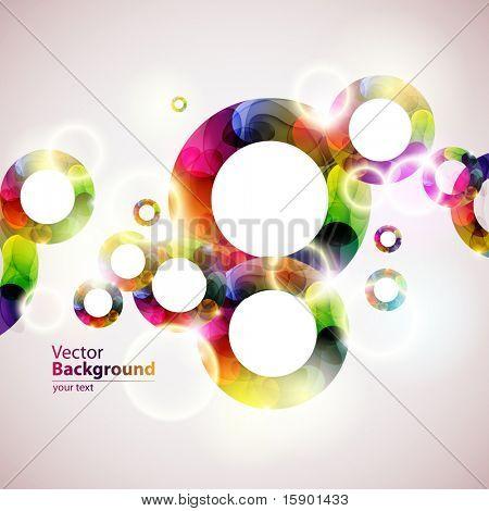 Burbujas coloridas