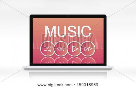 Music Soun Player Application Concept