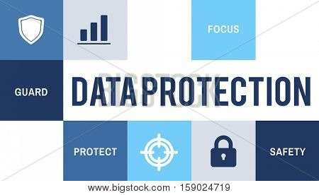 Data Protection Security Privacy Concept