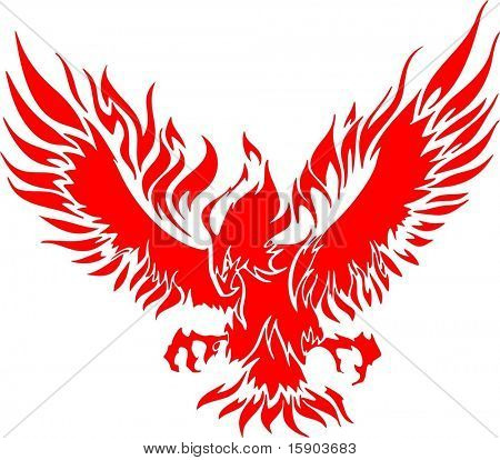 Flaming Eagle