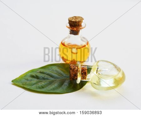 natural vegetable oil into beautiful vessels, natural extract ,