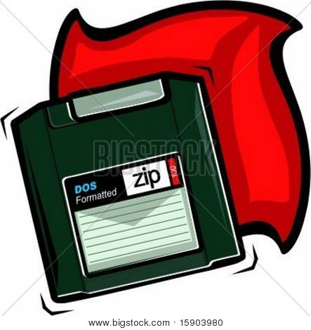 ZIP disk. Check my portfolio for many more images of this series.