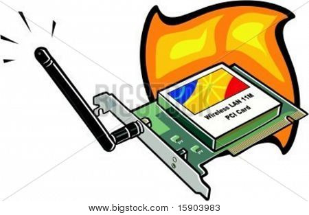 Wireless network card. Check my portfolio for many more images of this series.