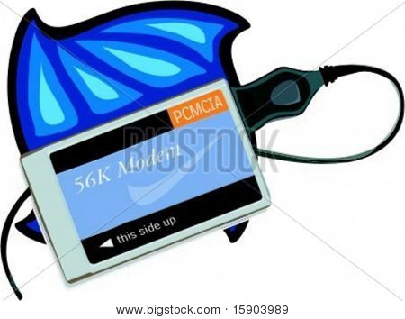 PCMCIA network card. Check my portfolio for many more images of this series.