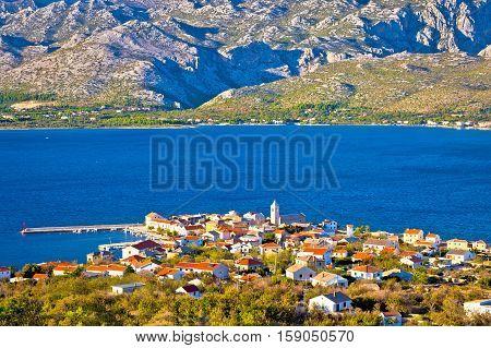 View Of Town Of Vinjerac