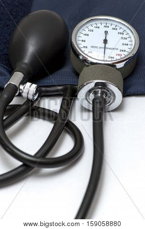 Medical Stethoscope On The Table