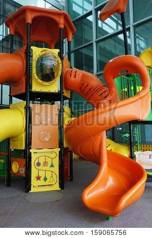 Children Playground At Changi Airport