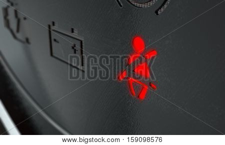 Fasten Seatbelt Dashboard Light