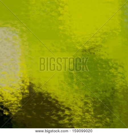blurred abstract background of colored spots green