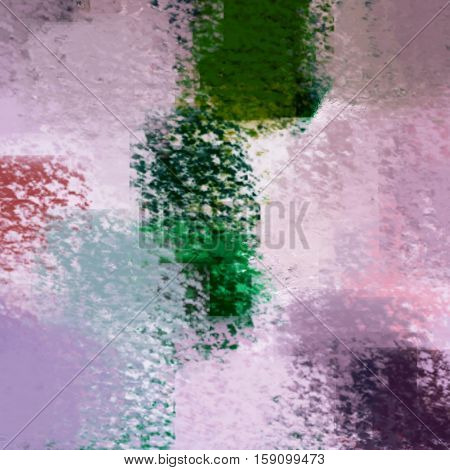 blurred abstract background of colored spots pink green