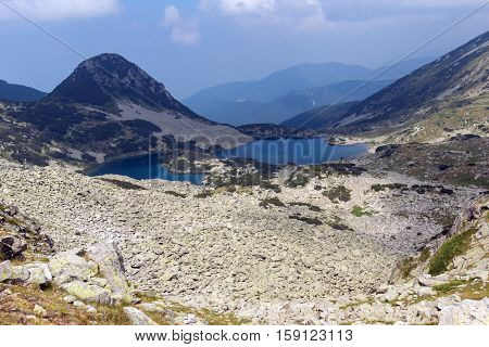 Amazing Landscape of Gergiyski lakes,  Pirin Mountain, Bulgaria