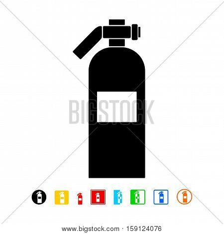 Fire extinguisher icon, safety icon - vector illustration.