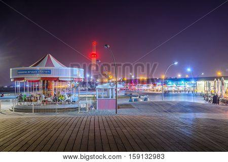 Tel Aviv Port Carrousel